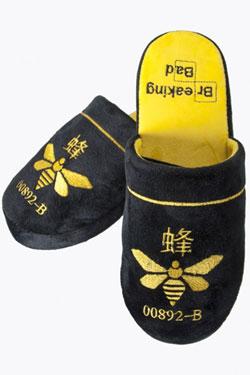 Breaking Bad Slippers Methylamine Bee Size M