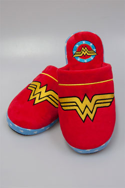 DC Comics Slippers Wonder Woman Size M
