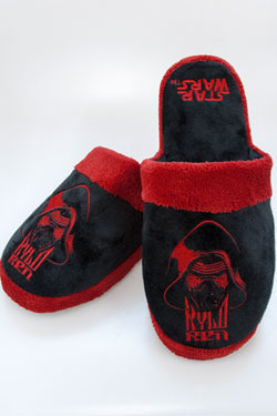 Star Wars Episode VII Slippers Kylo Ren Size M