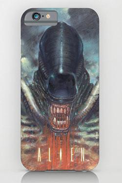 Alien iPhone 6 Case Xenomorph Blood
