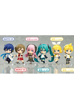 Character Vocal Series Nendoroid Petite Mini Figures 7 cm Hatsune Miku Renewal Assortment (8)