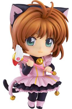 Cardcaptor Sakura Nendoroid Co-de Mini Figure Sakura Kinomoto Black Cat Maid 10 cm