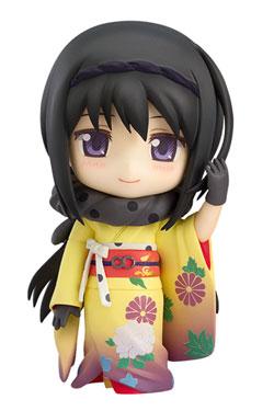 Puella Magi Madoka Magica The Movie Nendoroid Action Figure Homura Akemi Kimono Ver. 10 cm