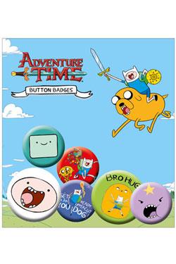 Adventure Time Pin Badges 6-Pack Finn
