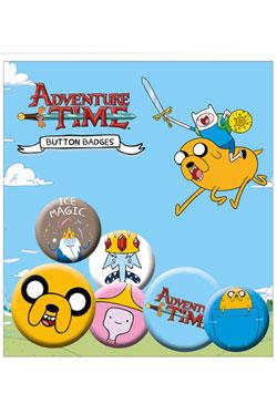 Adventure Time Pin Badges 6-Pack Jake