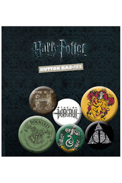 Harry Potter Pin Badges 6-Pack Mix 1
