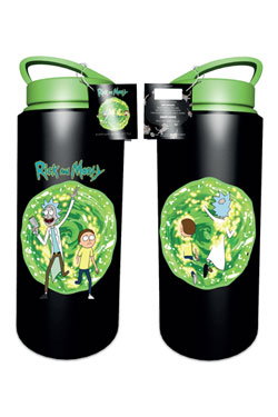 Rick and Morty Drink Bottle Portal