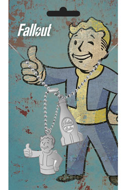 Fallout Dog Tags with ball chain Nuka
