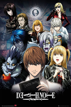 Death Note Poster Pack Collage 61 x 91 cm (5)