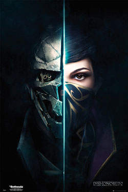 Dishonored 2 Poster Pack Faces 61 x 91 cm (5)