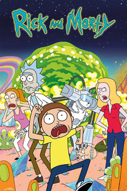Rick and Morty Poster Pack Group 61 x 91 cm (5)