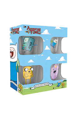 Adventure Time Shotglass 4-Pack