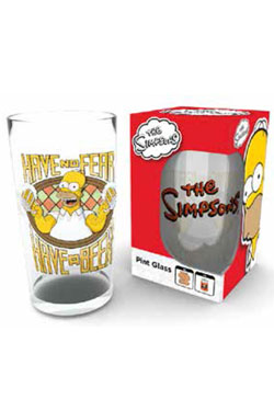 Simpsons Pint Glass Have A Beer