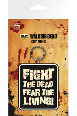 Walking Dead Rubber Keychain Fight The Dead 7 cm