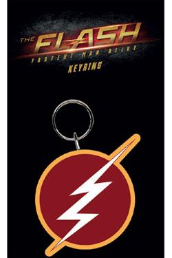 Flash Rubber Keychain Logo 7 cm