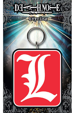 Death Note Rubber Keychain L 7 cm