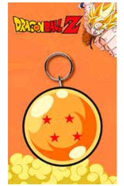 Dragonball Z Rubber Keychain Dragon Ball 7 cm