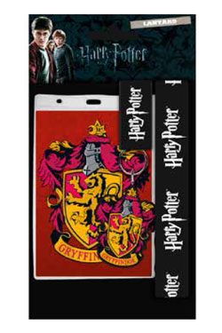 Harry Potter Lanyard with Rubber Keychain Gryffindor