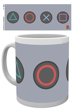 Sony PlayStation Mug Buttons