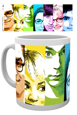 Big Bang Theory Mug Rainbow