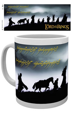Lord of the Rings Mug Fellowship