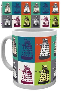 Doctor Who Mug Pop Art