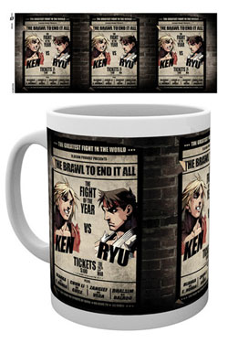 Street Fighter Mug Ken & Ryu