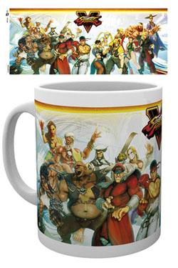 Street Fighter V Mug Characters