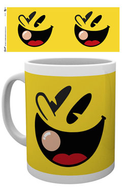 Pac-Man Mug Face