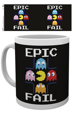 Pac-Man Mug Epic Fail