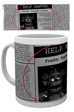 Five Nights at Freddy's Mug Help Wanted