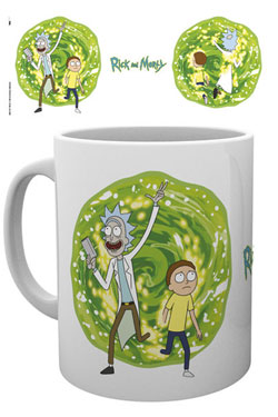 Rick and Morty Mug Portal