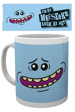 Rick and Morty Mug Mr Meeseeks