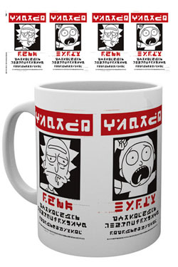 Rick and Morty Mug Wanted