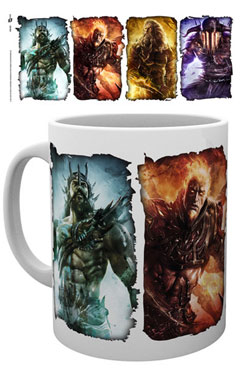 God of War Mug Gods