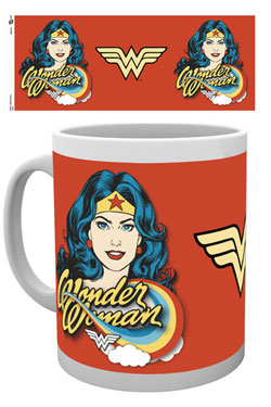 Wonder Woman Mug Face
