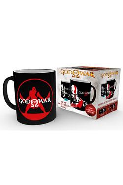 God of War Heat Change Mug Kratos