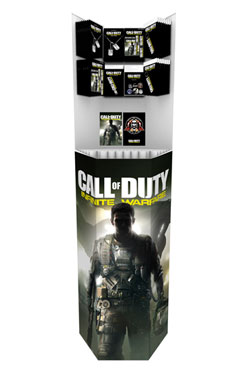 Call of Duty Infinite Warfare Display Stand 151 cm