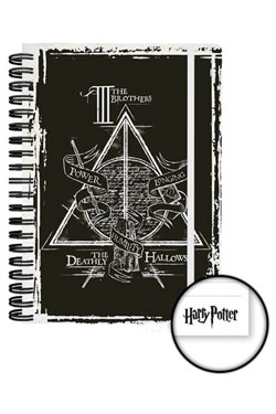 Harry Potter Notebook A5 Deathly Hallowes Case (12)