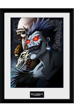 Death Note Framed Poster Shinigami 45 x 34 cm