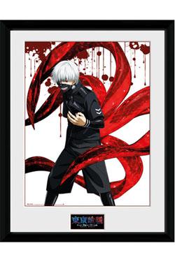 Tokyo Ghoul Framed Poster Ken 45 x 34 cm