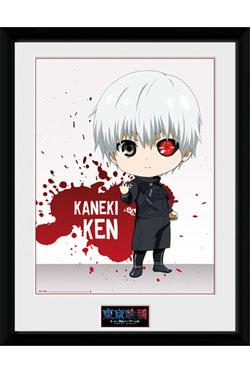 Tokyo Ghoul Framed Poster Chibi Ken 45 x 34 cm