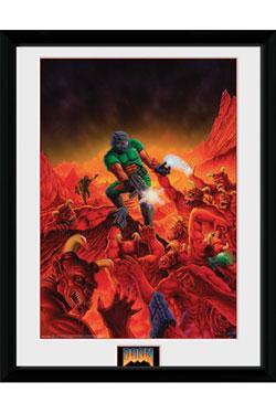 Doom Classic Framed Poster Key Art 45 x 34 cm