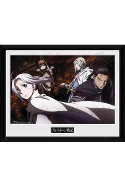 Heroic Legend of Arslan Framed Poster Group Landscape 45 x 34 cm