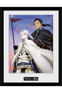 Heroic Legend of Arslan Framed Poster Embers 45 x 34 cm