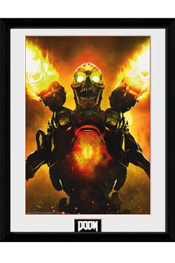Doom Framed Poster Key Art 45 x 34 cm