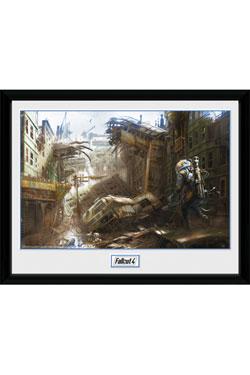 Fallout Framed Poster Vertical Slice 30 x 40 cm