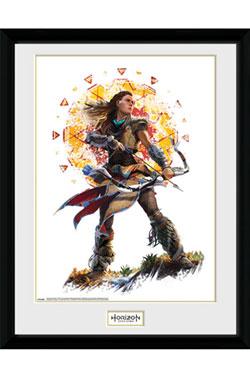 Horizon Zero Dawn Framed Poster Aloy Stand 45 x 34 cm