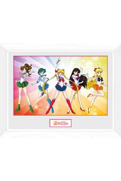 Sailor Moon Framed Poster Rainbow 45 x 34 cm