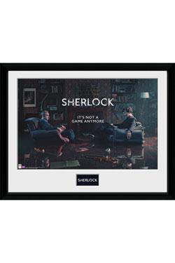 Sherlock Framed Poster Rising Tide 45 x 34 cm